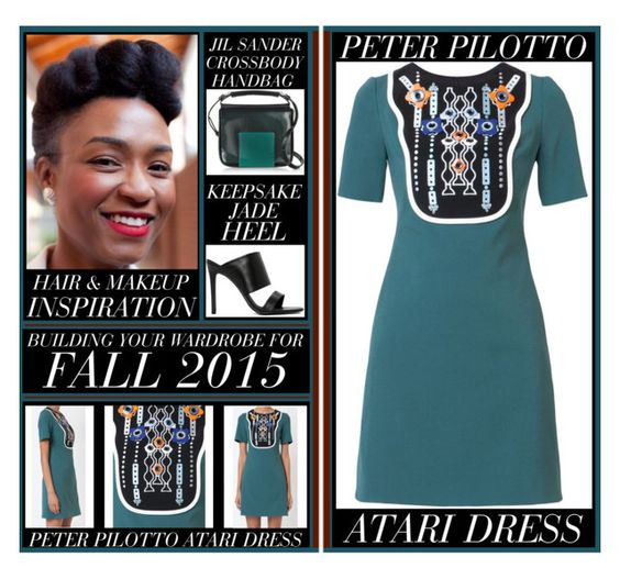Building Your Wardrobe For Fall 2015 - Atari Dress www.toyastales.blogspot.com