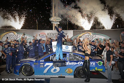 Furniture Row's Truex Jr. Wins in Kentucky - #NASCAR