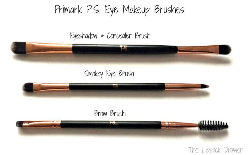 Primark Eye makeup brushes