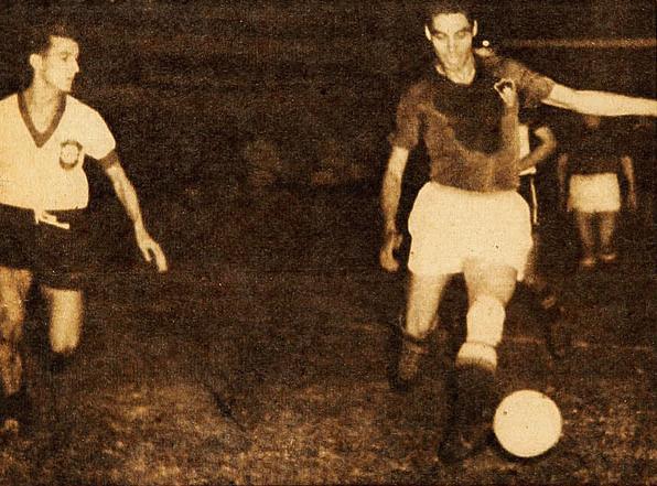 Brasil y Chile en Campeonato Sudamericano de 1942
