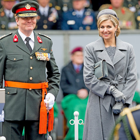 Dutch Royals attend ceremony of Military Willems Order