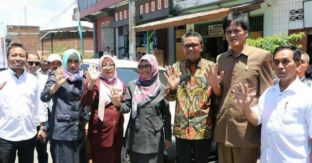 Ketua DPRD Soppeng Hadiri Peresmian Posko Prof Andalan