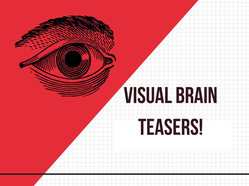 Visual Brain Teasers Main Page