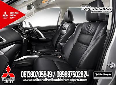 Luxurious Black Interior Leather Seat