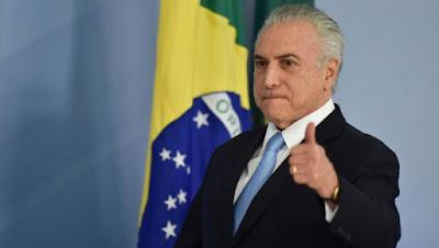 Presidente Michel Temer aprova reajuste salarial de ministros do STF