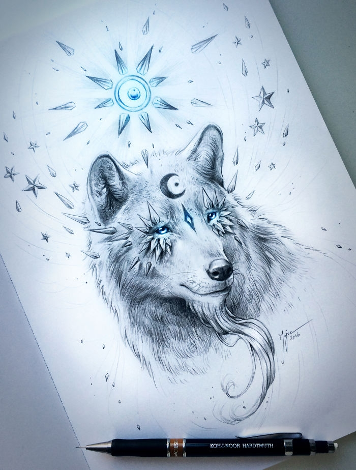 05-Wolf-Jonas-Jödicke-jojoesart-Fantasy-Animal-Drawings-with-Souls-of-Nature-www-designstack-co