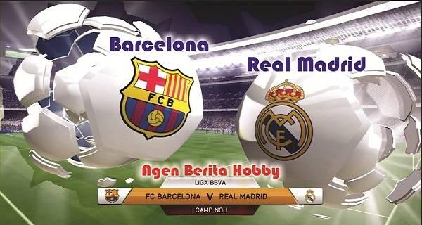 barcelona vs real madrid pastikan perang gol