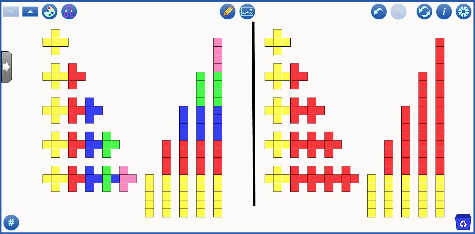 Engaging Math Visual Pattern Cards