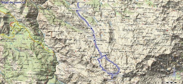 Mapa ruta Torre de Enmedio