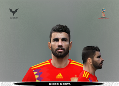 PES 6 Faces Diego Costa by Adam & The Kid Facemaker