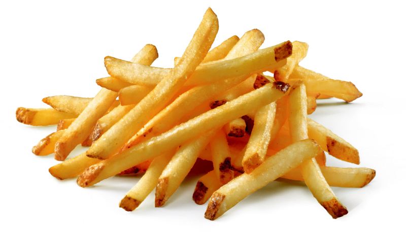how to make cut french fries at home