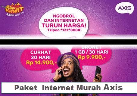 Kenyamanan Paket Internet Axis