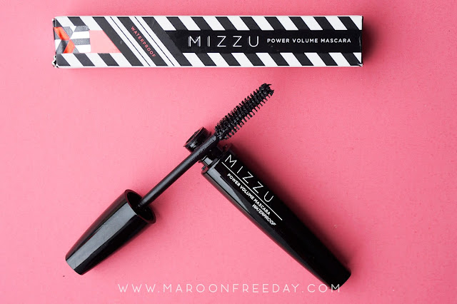 Review Mizzu Power Volume Mascara