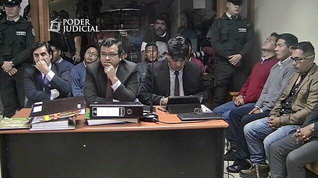 Todo el juicio abreviado fue transmitido en vivo por el canal del Poder Judicial chileno