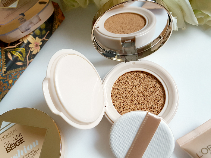 Review: L´ORÉAL Paris - Glam Beige Healthy Glow Cushion Foundation - 14.6g - 14.95 Euro