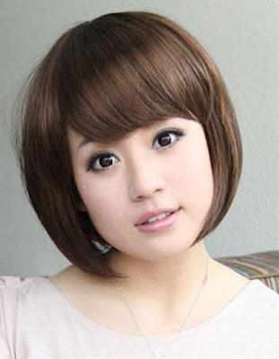 Model Rambut Pendek Berwajah Oval Bagi Wanita