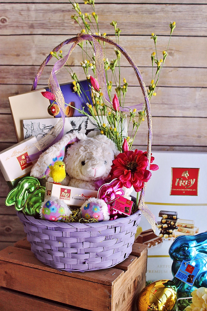 The Easter Basket Elevated- #Introducing ChocolatFreyNA the #1 selling chocolate brand in Switzerland, authentic Swiss premium chocolates now sold state-side. AD