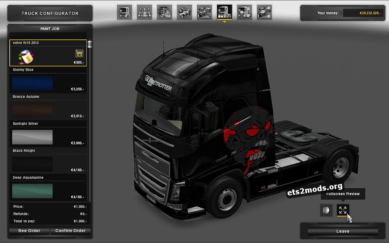 Volvo 2012 Zombie Skin