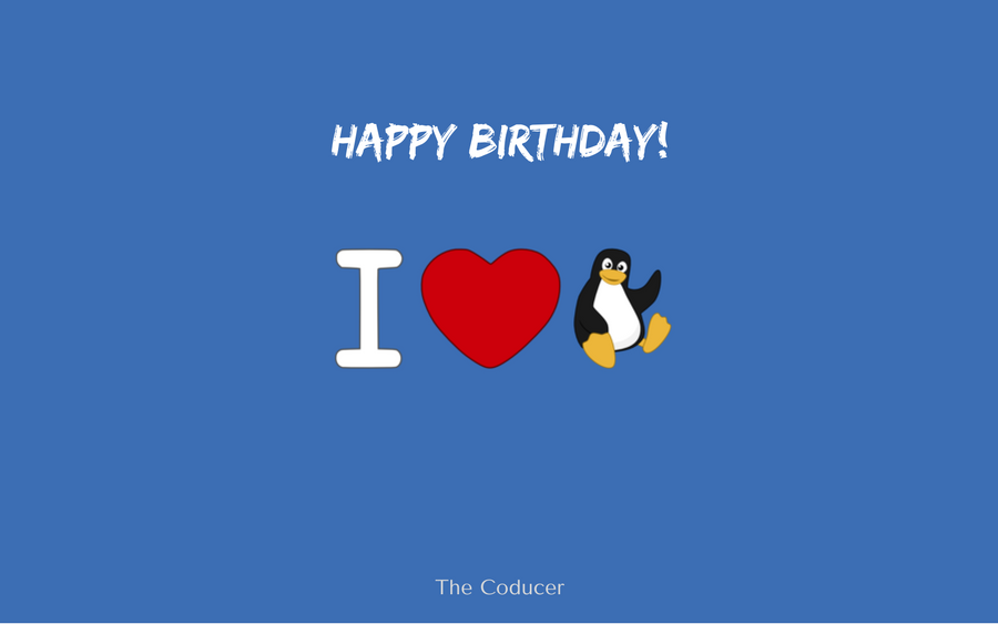 Happy Birthday Linux