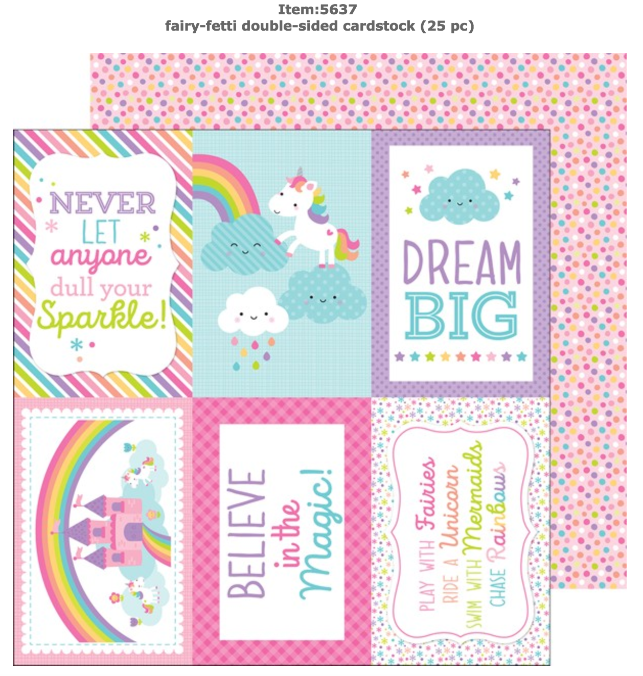 Doodlebug Design Fairy Tales Collection Cardstock Stickers This /& That 5608 2017