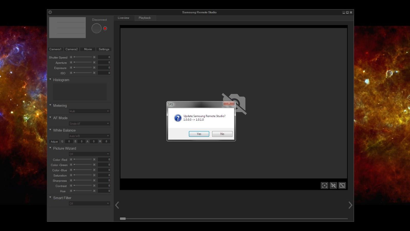 ESGI Media: Update! - Samsung NX1 Remote Studio to v1 0 1 0