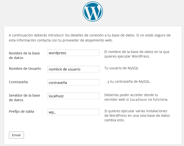 wordpress-español