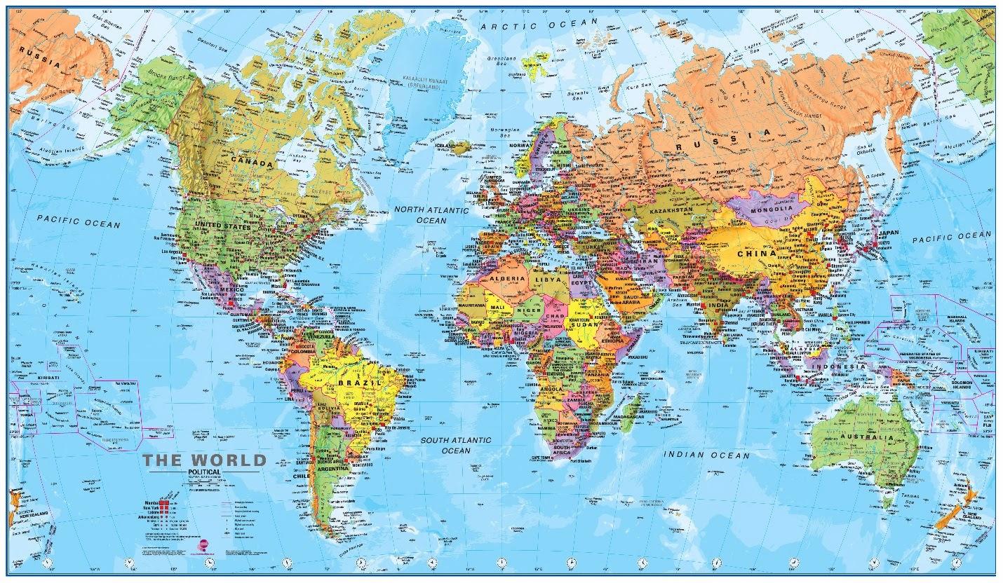 Cada País Ve El Mapa Del Mundo A Su Manera Geografía Infinita