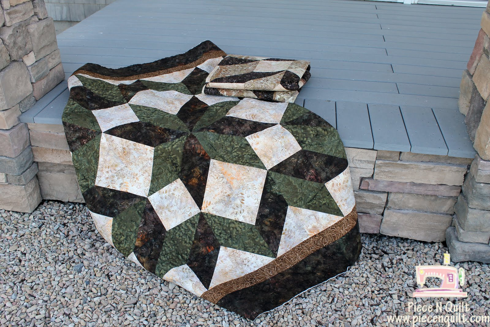 Piece N Quilt Carpenters Star Quilt