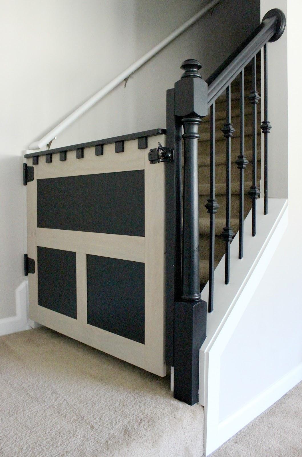 Duo ventures craftsman dutch door inspired diy baby gate for Craftsman dutch door