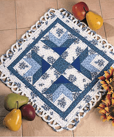 Pride of Italy Centerpiece Table Runner Free Pattern