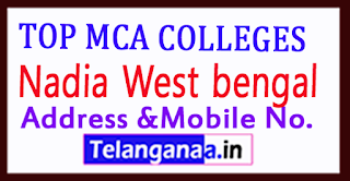 Top MCA Colleges in Nadia West bengal