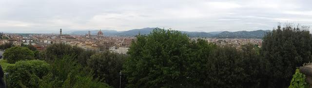 Panorámica, Piazzale Michelangelo, Firenze, Florencia, Elisa N, Blog de Viajes