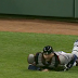 A.J. Pierzynski spikes throw to second base (Video)