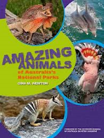 Book cover image of Amazing animalsof Australia's national parks