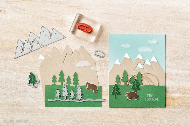 Always an Adventure Stamp Set, Outdoor Adventure Framelits Dies, Stampin' Up!