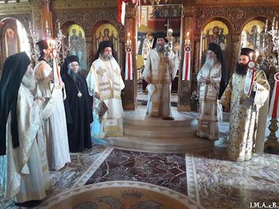 ИПЦ Греции: Неделя о Самаряныне в монастыре Свт. Николая (Пеаниа, Аттика). ФОТО