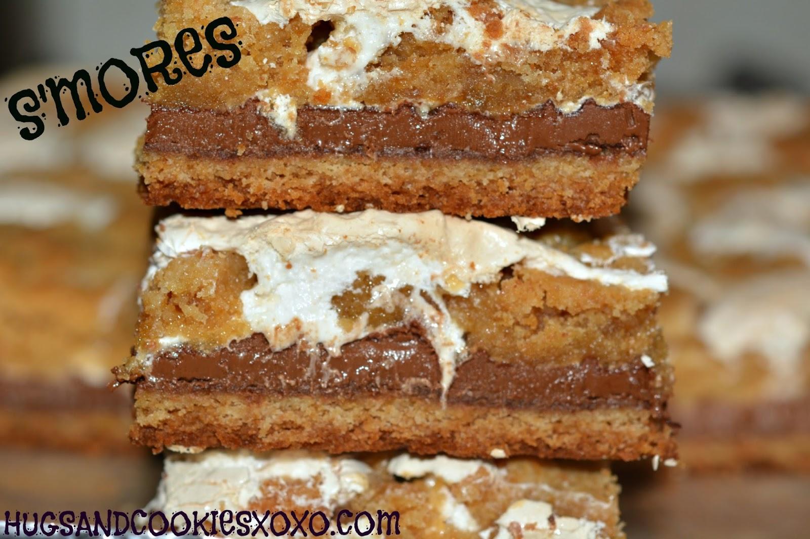 Hershey S Mores Bars Heavenly Hugs And Cookies Xoxo
