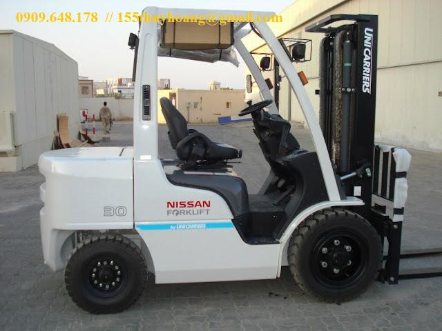 Xe nâng Nissan Unicarriers dòng cao cấp