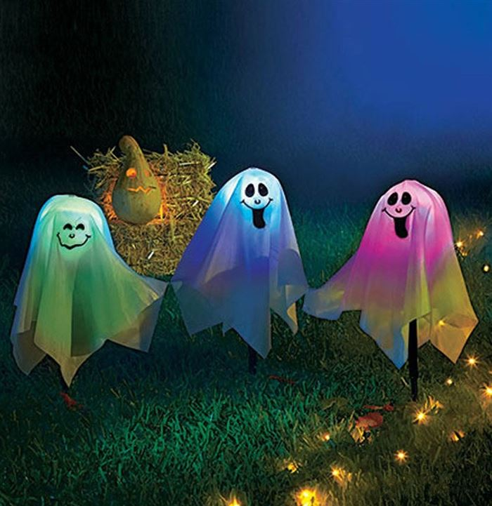 Unique Outdoor Halloween Pumpkin Lights