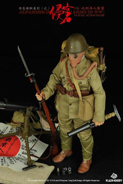 toyhaven: KADHOBBY 1/6th scale WWII Japanese Army Infantryman 12