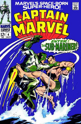 Captain Marvel #4, the Sub-Mariner