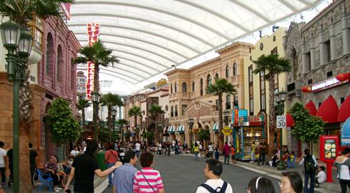 Universal Studios Singapore 2010