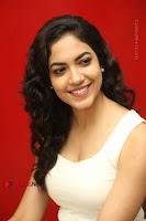Actress Ritu Varma Stills in White Floral Short Dress at Kesava Movie Success Meet .COM 0210.JPG
