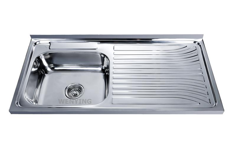 Sink Factory Manufacturer Stainless Steel Kitchen Wash Basin Water Tank Construction Hardware Building