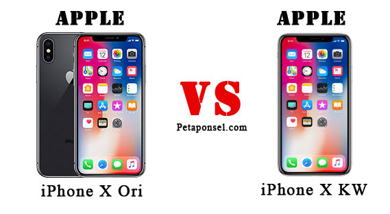 Cara Membedakan iPhone X Asli dan Palsu (Replika)
