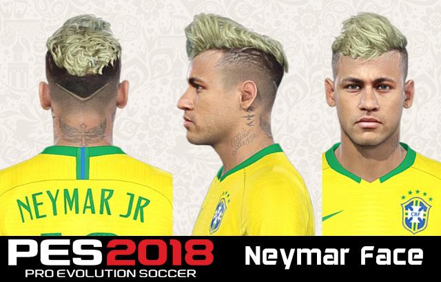 Face Neymar Pes 2018 – Idées d'images à la joueur
