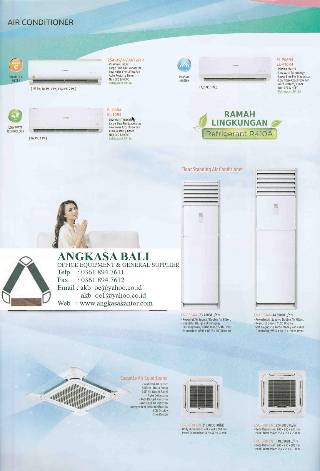 Angkasa Bali Jual Elektronik Sanken Dispenser TV AC Mesin