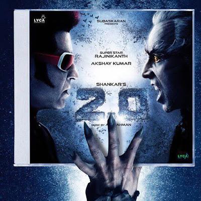 Rajinikanth & Akshay Kumar Robots 2.0 Movie Poster Image