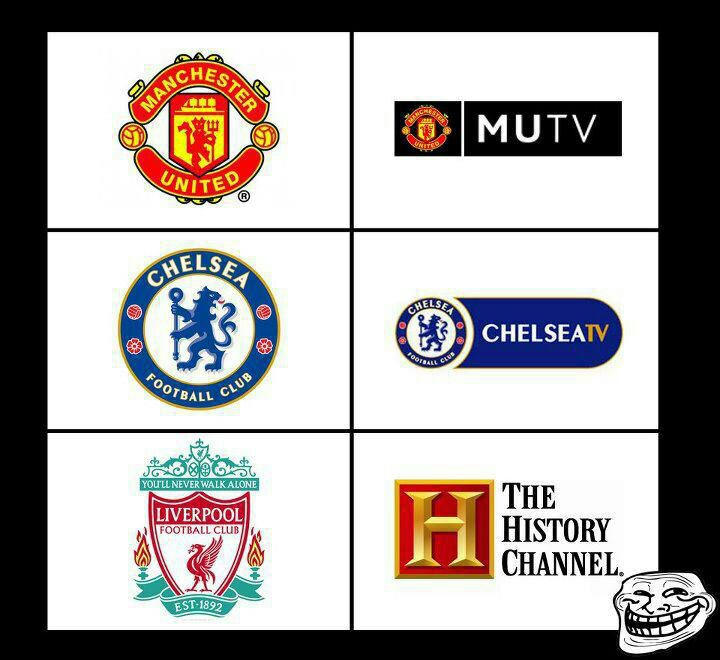 Funny Manchester United Chelsea Fc Liverpool Fc