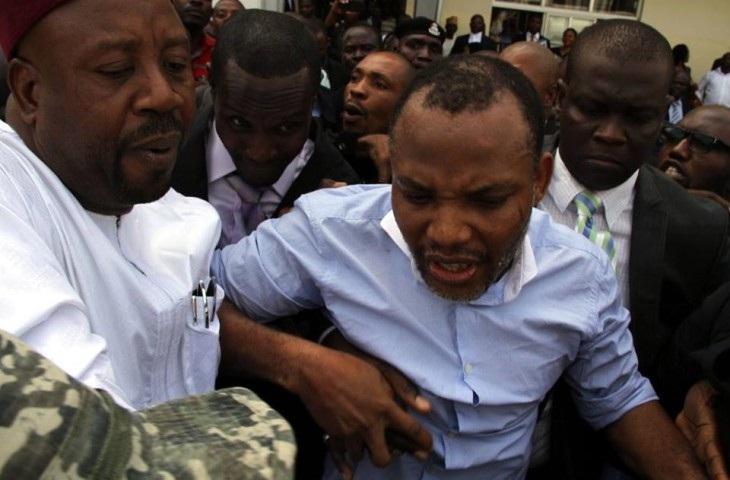 Biafra: Kanu speaks from prison, lauds IPOB members for